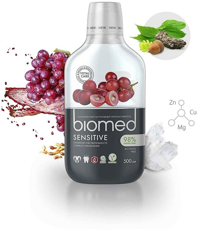 """Collutorio antibatterico per desensibilizzazione """"Uva"""" - Biomed Sensitive — foto N2"""