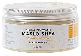 Profumi e cosmetici Burro di karitè non raffinato con vitamina E - Natur Planet Orange Shea Butter Unrefined & Vitamin E