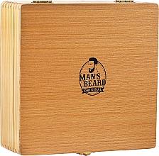 Profumi e cosmetici Set da barba - Man's Beard Razor Wood Brown Box