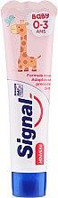 Profumi e cosmetici Dentifricio per bambini - Signal Signal Kids Strawberry Toothpaste