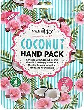 Profumi e cosmetici Maschera mani al cocco - Derma V10 Coconut Hand Pack
