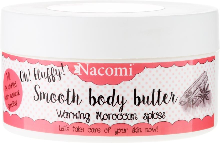"""Burro corpo """"Spezie calde marocchine"""" - Nacomi Smooth Body Butter Warming Moroccan Spices — foto N1"""