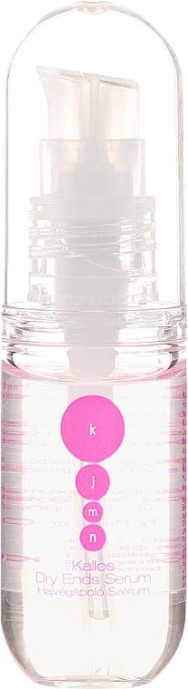 Siero per capelli secchi - Kallos Cosmetics Dry Ends Serum  — foto N2