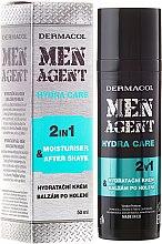 Profumi e cosmetici Balsamo dopobarba - Dermacol Men Agent Moisturiser After Shave