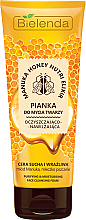 Profumi e cosmetici Schiuma detergente viso idratante - Bielenda Manuka Honey Nutri Elixir Facial Foam