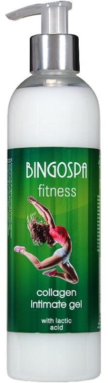 """Gel per l'igiene intima al collagene """"Fitness"""" - BingoSpa"""