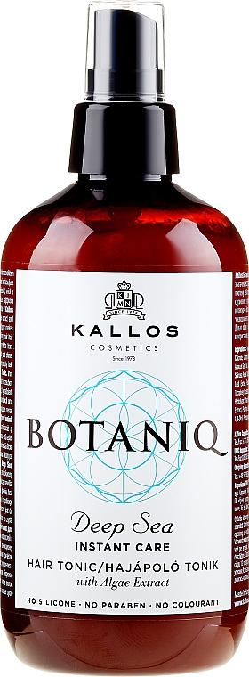 Tonico-spray rigenerante per capelli - Kallos Cosmetics Botaniq Deep Sea Instant Care Hair Tonic