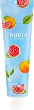 """Profumi e cosmetici Crema mani nutriente """"Pompelmo """" - Frudia My Orchard Grapefruit Hand Cream"""