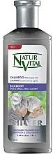 """Profumi e cosmetici Shampoo per capelli chiari e grigi """"Mirtillo"""" - Natur Vital Silver Shampoo"""