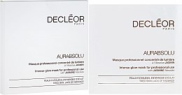 "Profumi e cosmetici Maschera ""L'intensa luminosità della pelle"" - Decleor Aurabsolu Intense Glow Mask"