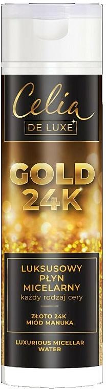 Acqua micellare - Celia De Luxe Gold 24k