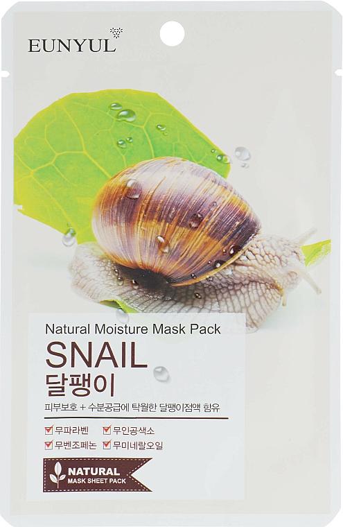 Maschera in tessuto alla bava di lumaca - Eunyul Natural Moisture Mask Pack