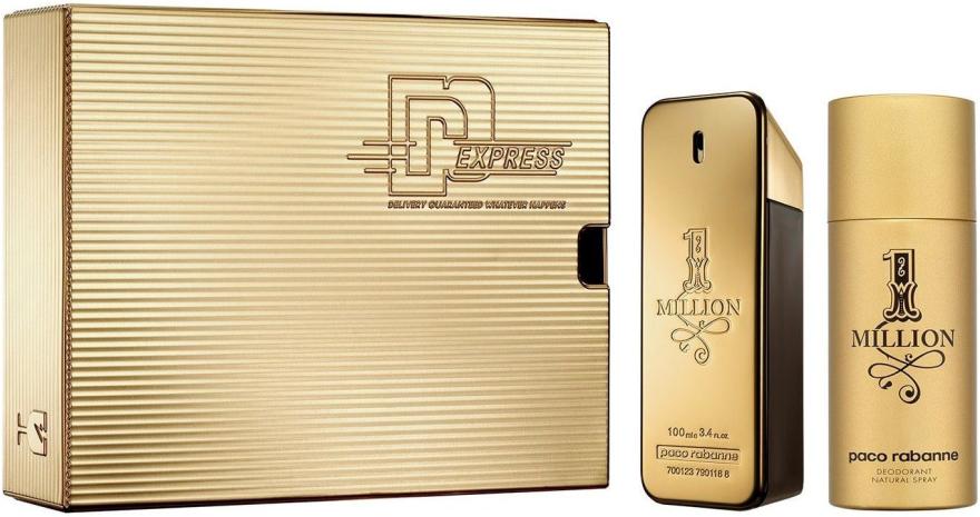 Paco Rabanne 1 Million - Set (edt/100 + deo/150)