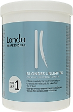"Profumi e cosmetici Polvere illuminante ""Creative"" - Londa Professional Blondes Unlimited Creative Lightening Powder"
