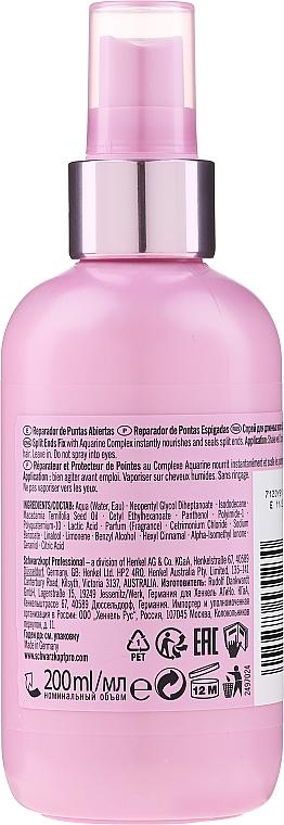 Spray per punte secche e doppie punte - Schwarzkopf Professional Mad About Lengths Split Ends Fix — foto N2