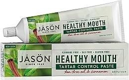 Profumi e cosmetici Dentifricio antitartaro - Jason Natural Cosmetics Healthy Mouth Tartar Control Toothpaste