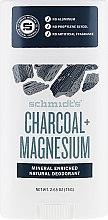 Profumi e cosmetici Deodorante naturale - Schmidt's Deodorant Charcoal + Magnesium Stick