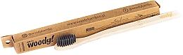 Profumi e cosmetici Spazzolino da denti in bambù, setole morbide nere - WoodyBamboo Bamboo Toothbrush Natural
