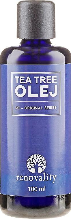 """Olio viso e corpo """"Tea Tree"""" - Renovality Original Series Tea Tree Oil — foto N1"""