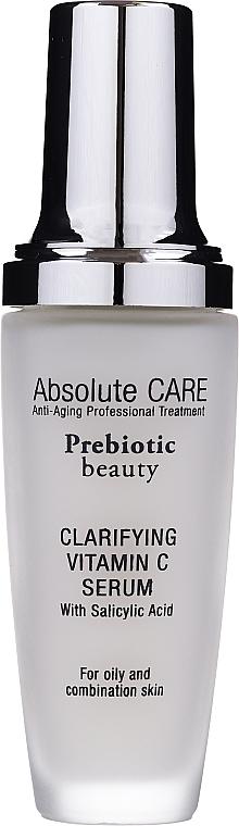Siero detergente viso alla vitamina C - Absolute Care Prebiotic Beauty Clarifying Vitamin C Serum