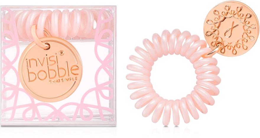 Elastici a spirale per capelli - Invisibobble Original Pink Heroes — foto N1