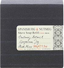 Profumi e cosmetici Bath House Spanish Fig and Nutmeg - Sapone da barba (ricarica)