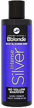 Profumi e cosmetici Shampoo colorato per capelli chiari, grigi e decolorati - Jerome Russell Bblonde Intense Silver No Yellow Shampoo