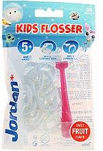 Profumi e cosmetici Set - Jordan Kids Flosser (floss/1szt+refils/36szt), rosa