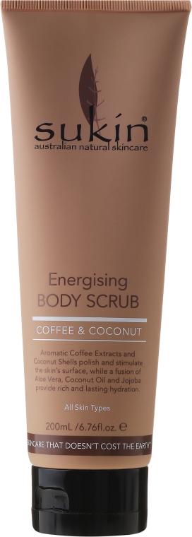 """Scrub corpo """"Caffè e cocco"""" - Sukin Energising Body Scrub With Coffee & Coconut — foto N1"""