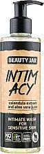 Profumi e cosmetici Gel intimo per la pelle sensibile - Beauty Jar Intimate Wash For Sensetive Skin