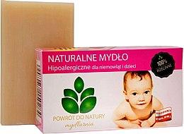 "Profumi e cosmetici Sapone naturale ""Baby"" - Powrot do Natury Natural Soap for Baby"