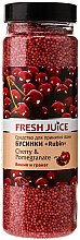 Profumi e cosmetici Perle da bagno - Fresh Juice Bath Bijou Rubin Cherry and Pomergranate