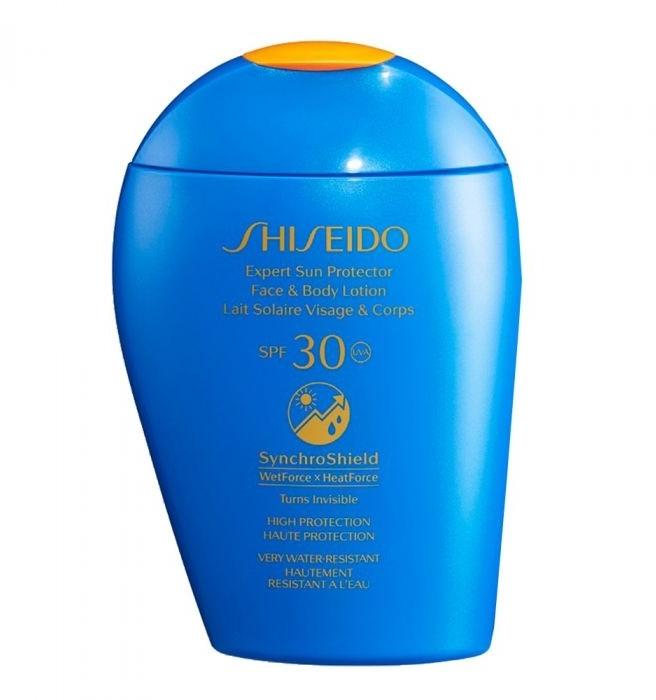 Crema solare per viso e corpo - Shiseido Expert Sun Protection Face and Body Lotion SPF30 — foto N1