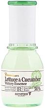 "Profumi e cosmetici Essenza calmante ""Foglie di lattuga e cetriolo"" - SkinFood Premium Lettuce & Cucumber Watery Essence"