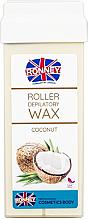 "Profumi e cosmetici Cartuccia cera depilatoria ""Cocco"" - Ronney Wax Cartridge Coconut"