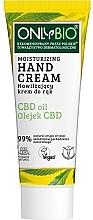 Profumi e cosmetici Crema mani idratante - Only Bio Only Eco CBD Oil