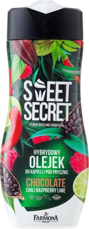 Olio doccia - Farmona Sweet Secret Chocolate Hybrid Bath & Shower Oil