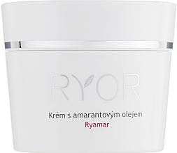 Profumi e cosmetici Crema viso all'olio di amaranto per pelli molto sensibili - Ryor Ryamar