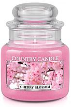 """Profumi e cosmetici Candela profumata """"Ciliegio in fiore"""" (in vetro) - Country Candle Cherry Blossom"""