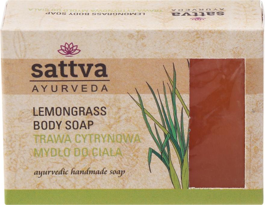 "Sapone ""Citronella"" - Sattva Hand Made Soap Lemongrass"