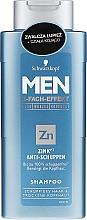 Profumi e cosmetici Shampoo anti forfora - Schwarzkopf Men ZinkPT Anti-Schuppen Shampoo