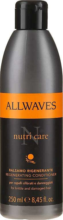 Condizionante per capelli danneggiati - Allwaves Nutri Care Regenerating conditioner