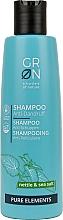 Profumi e cosmetici Shampoo antiforfora all'ortica e sale marino - GRN Pure Elements Anti-Dandruff Nettle & Sea Salt Shampoo