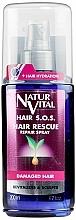 Profumi e cosmetici Spray anticaduta dei capelli - Natur Vital Hair Rescue Repair Spray