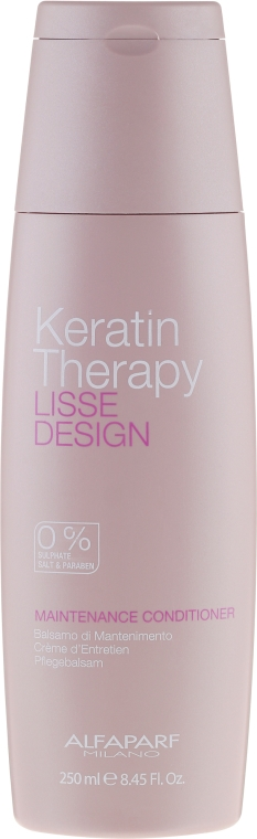 Condizionante con cheratina - Alfaparf Lisse Design Keratin Therapy Maintenance Conditioner
