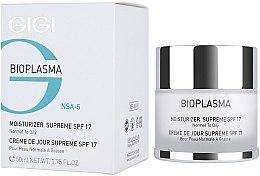 Profumi e cosmetici Crema idratante per pelli grasse - Gigi Bioplasma Moist Oil SPF-17