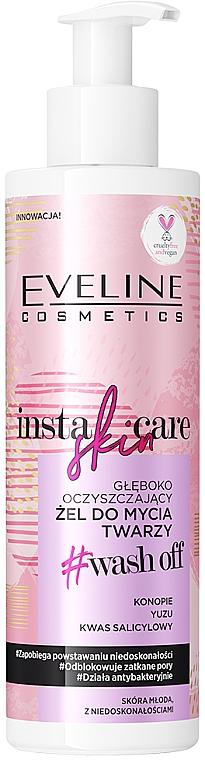 Gel detergente - Eveline Cosmetics Insta Skin Care #Wash Off