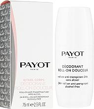 Profumi e cosmetici Deodorante roll-on - Payot Le Corps Deodorant Ultra Douceur Alcohol Free Roll On Deodorant