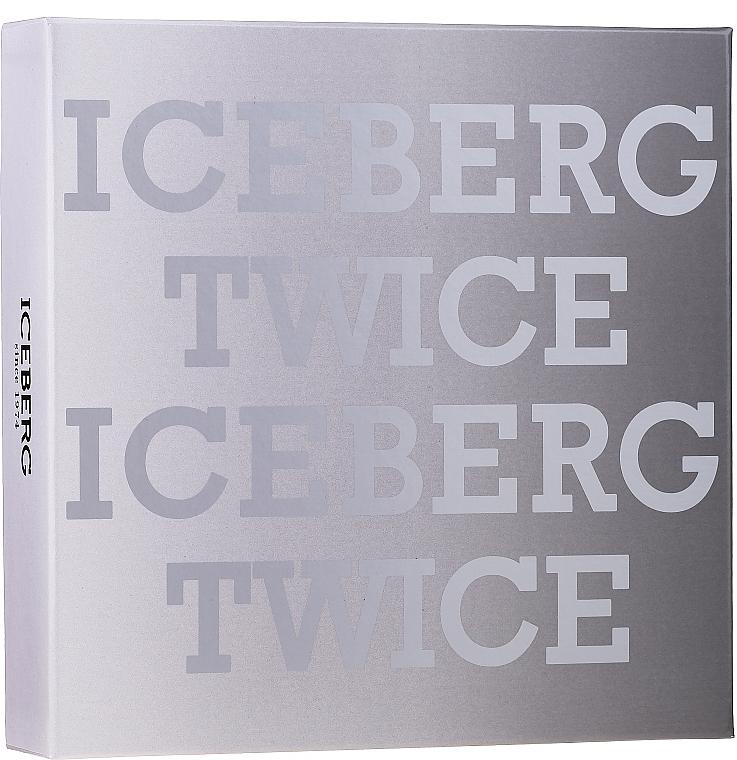 Iceberg Twice Homme - Set (edt/125ml + acs)