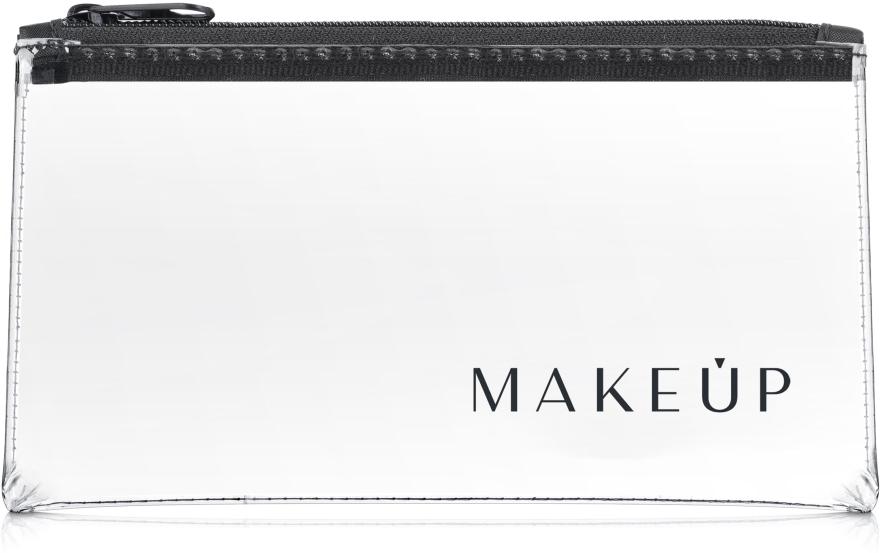 "Beauty case trasparente ""Flat Glow"" 20x10cm - MakeUp — foto N1"